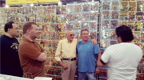 Dale Roberts and Stan Lee!