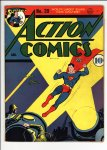 Action Comics #39 VG (4.0)