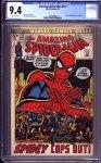 Amazing Spider-Man #112 CGC 9.4
