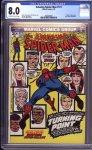 Amazing Spider-Man #121 CGC 8.0