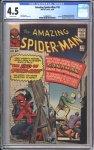 Amazing Spider-Man #18 CGC 4.5