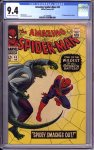 Amazing Spider-Man #45 CGC 9.4