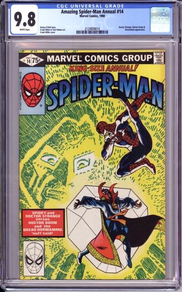 #21 CGC NM//M 9.8 White Pages Amazing Spider-Man 1999