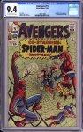 Avengers #11 CGC 9.4