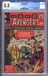 Avengers #1 CGC 3.5