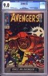 Avengers #23 CGC 9.0