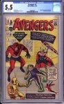 Avengers #2 CGC 5.5