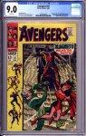 Avengers #47 CGC 9.0