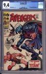 Avengers #50 CGC 9.4