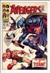 Avengers #50 VF- (7.5)