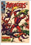 Avengers #55 VG/F (5.0)