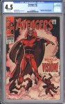 Avengers #57 CGC 4.5