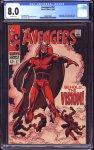 Avengers #57 CGC 8.0