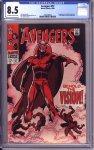 Avengers #57 CGC 8.5