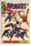Avengers #58 VF- (7.5)