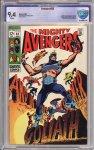 Avengers #63 CBCS 9.4