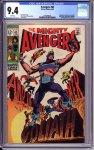 Avengers #63 CGC 9.4