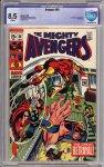 Avengers #66 CBCS 8.5