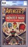 Avengers #9 CGC 8.0