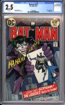 Batman #251 CGC 2.5