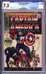 Captain America #100 CGC 7.5