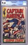 Captain America #102 CGC 9.4