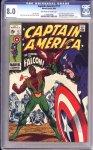Captain America #117 CGC 8.0
