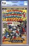 Captain America #166 CGC 9.6