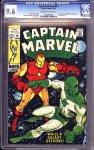 Captain Marvel #14 CGC 9.6