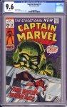 Captain Marvel #19 CGC 9.6