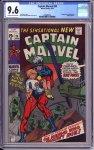 Captain Marvel #20 CGC 9.6