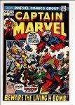 Captain Marvel #23 VF- (7.5)