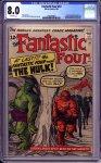 Fantastic Four #12 CGC 8.0
