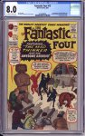 Fantastic Four #15 CGC 8.0