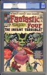 Fantastic Four #24 CGC 9.0