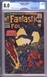 Fantastic Four #52 CGC 8.0