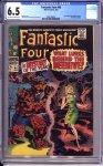 Fantastic Four #66 CGC 6.5