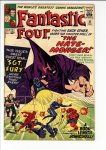 Fantastic Four #21 VF+ (8.5)
