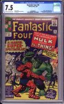 Fantastic Four #25 CGC 7.5