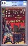 Fantastic Four #48 CGC 8.0