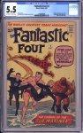 Fantastic Four #4 CGC 5.5