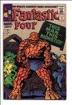Fantastic Four #51 VF- (7.5)