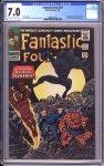 Fantastic Four #52 CGC 7.0