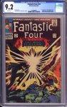 Fantastic Four #53 CGC 9.2