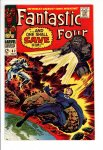 Fantastic Four #62 VF- (7.5)