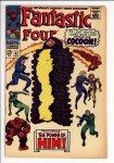 Fantastic Four #67 VG- (3.5)