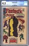 Fantastic Four #67 CGC 4.5