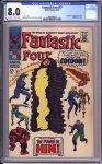 Fantastic Four #67 CGC 8.0