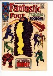Fantastic Four #67 VF- (7.5)