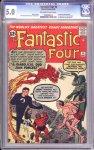 Fantastic Four #6 CGC 5.0